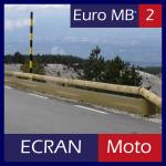 Motorcycle screen for EURO MB2 barrier